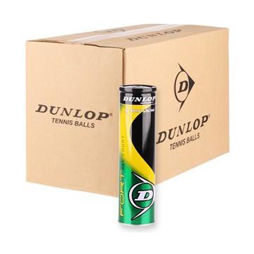Dunlop Fort All Court tenisové míče - Karton (72 míčů) + dárek zdarma a DOPRAVA ZDARMA