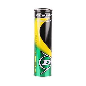 Dunlop Fort All Court tenisové míče - Dóza (4 míče) + dárek zdarma