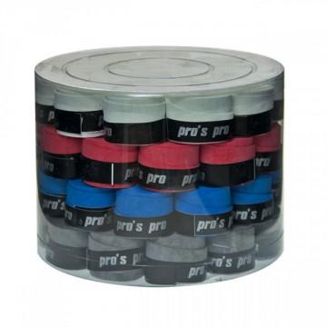 Pro S Pro aqua zorb 60 ks barevný mix tenisová omotávka + dárek zdarma