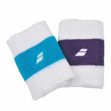Babolat Wristband reversible fialové a modré tenisové potítko + dárek zdarma