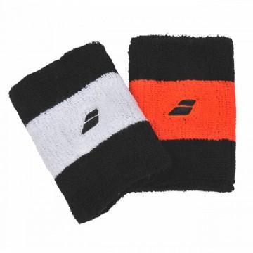 Babolat Wristband reversible oranžové a bílé tenisové potítko + dárek zdarma