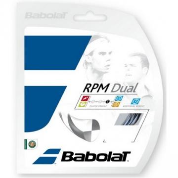 Babolat RPM DUAL 1,25 mm - 12 m tenisový výplet + dárek zdarma