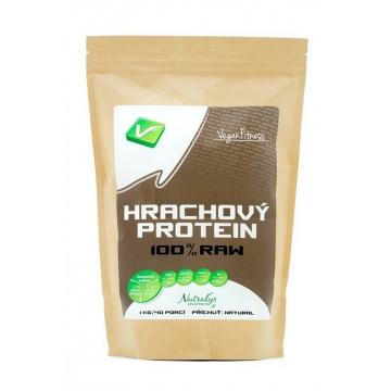 Vegan Fitness 100% Hrachový Protein 1000 g + dárek zdarma