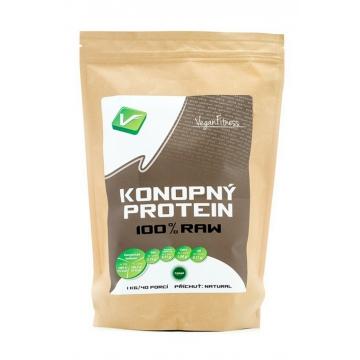 Vegan Fitness 100% Konopný Protein 1000 g + dárek zdarma