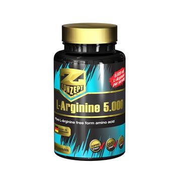 Z-Konzept L-Arginine 5000 100 tablet + dárek zdarma