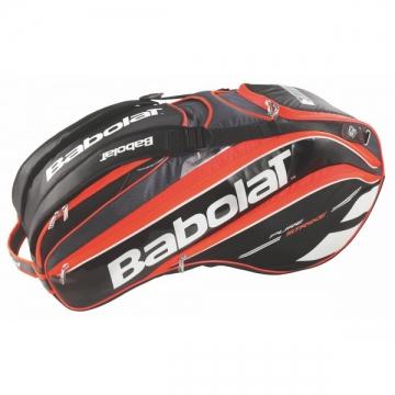 Babolat Pure Strike X12 2015 červená tenisový bag + dárek zdarma a DOPRAVA ZDARMA