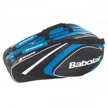 Babolat Club Line X12 2015 modrá tenisový bag + dárek zdarma