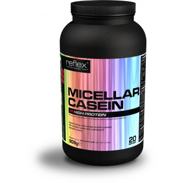 Reflex Nutrition Micellar Casein 909 g banán + dárek zdarma