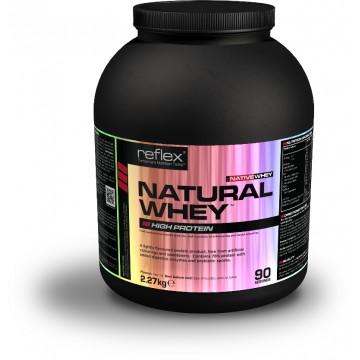 Reflex Nutrition Natural Whey Native 2270 g vanilka + dárek zdarma
