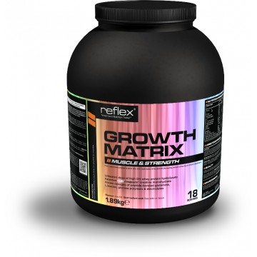 Reflex Nutrition Growth Matrix 1890 g fruit punč + dárek zdarma