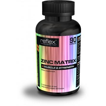 Reflex Nutrition Zinc Matrix 90 kapslí + dárek zdarma