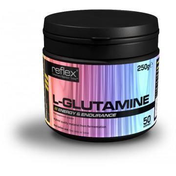 Reflex Nutrition L-Glutamine 250 g + dárek zdarma
