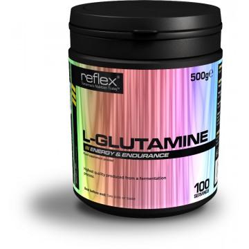 Reflex Nutrition L-Glutamine 500 g + dárek zdarma