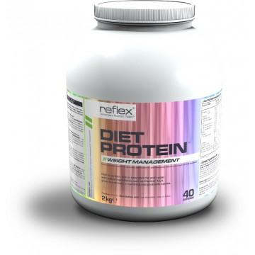 Reflex Nutrition Diet Protein 2000 g banofee + dárek zdarma
