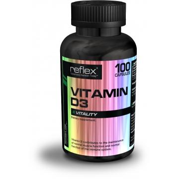 Reflex Nutrition Vitamin D3 100 kapslí + dárek zdarma