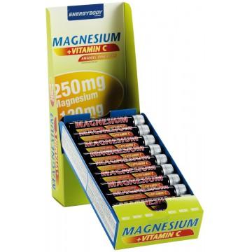 Energy Body Magnesium Liquid 20 x 25 ml + dárek zdarma