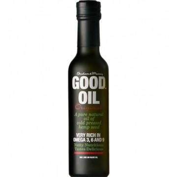 Good Hemp konopný olej za studena lisovaný 250 ml + dárek zdarma
