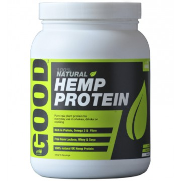 Good Hemp Protein Natural RAW 500 g natural + dárek zdarma