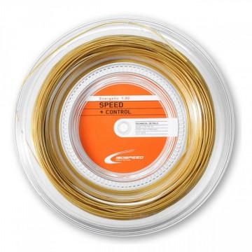Iso Speed ENERGETIC zlatá 1,3 mm - 200 m tenisový výplet + dárek zdarma a DOPRAVA ZDARMA