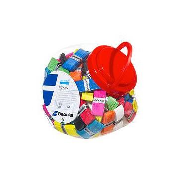 Babolat MY GRIP X70 70 ks barevný mix tenisová omotávka + dárek zdarma