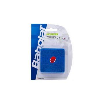 Babolat Wristband Standard X2 modrá tenisové potítko + dárek zdarma