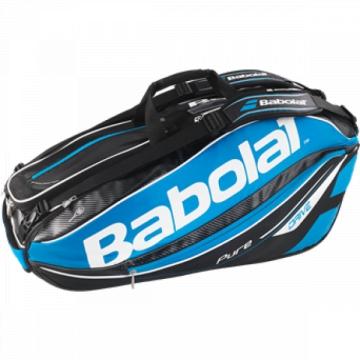 Babolat Pure Drive X9 2015 modrá tenisový bag + dárek zdarma