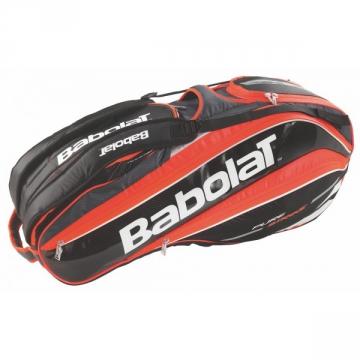 Babolat Pure Strike X9 2015 červená tenisový bag + dárek zdarma
