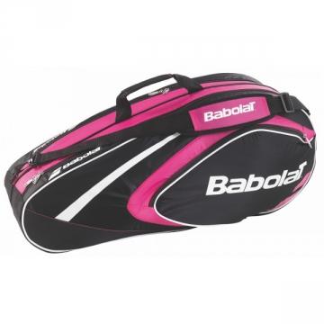 Babolat Club Line X6 2015 růžový tenisový bag + dárek zdarma