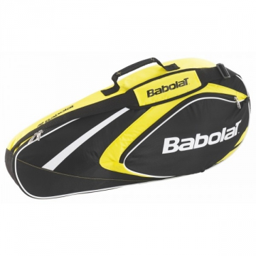 Babolat Club Line X3 2015 žlutý tenisový bag + dárek zdarma