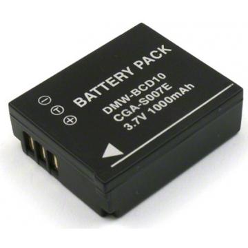 Panasonic baterie do fotoaparátu CGA-S007 - 1000 mAh + dárek zdarma