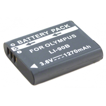 Olympus baterie do fotoaparátu Li-90B - 1270 mAh + dárek zdarma