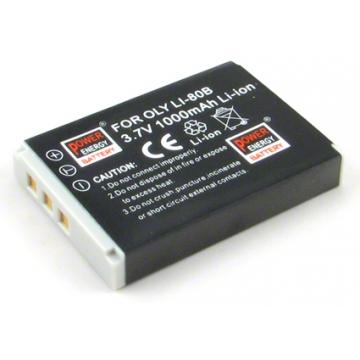 Prosio baterie do fotoaparátu Li-80B - 1000 mAh + dárek zdarma