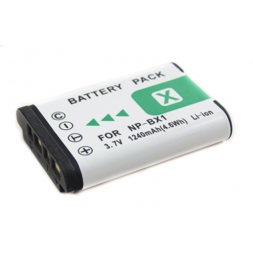 Sony baterie do videokamery NP-BX1 - 1240 mAh + dárek zdarma
