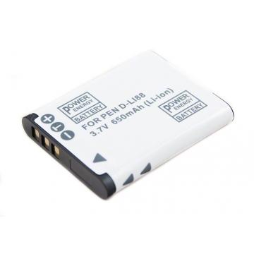 Sanyo baterie do videokamery DB-L80 - 650 mAh + dárek zdarma