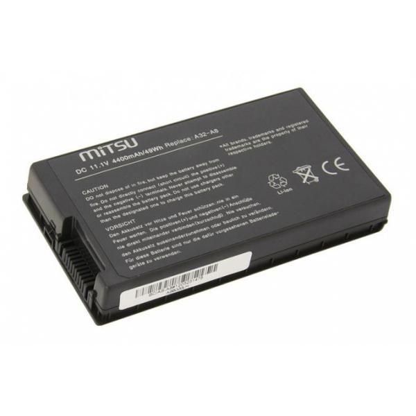 Mitsu baterie pro notebook Asus A8, A8000, F83, X81